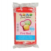 Rollfondant rot, fire red 250 g, Fun Cakes