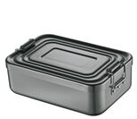 Lunch Box klein, Alu anthrazit